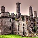 Kergournadeac'h castle. part III by jean-jean