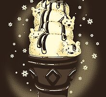 Ice Cream Bears by tobiasfonseca