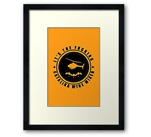 Step Brothers - Catalina Wine Mixer - Logo Framed Print