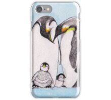 Family Penguin Love iPhone Case/Skin