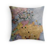 The Places You'll Go Throw Pillow