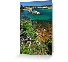 Bermagui Harbour Greeting Card