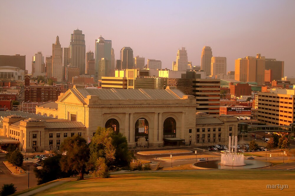 downtown kansas city by martym