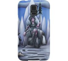 penguin queen Samsung Galaxy Case/Skin