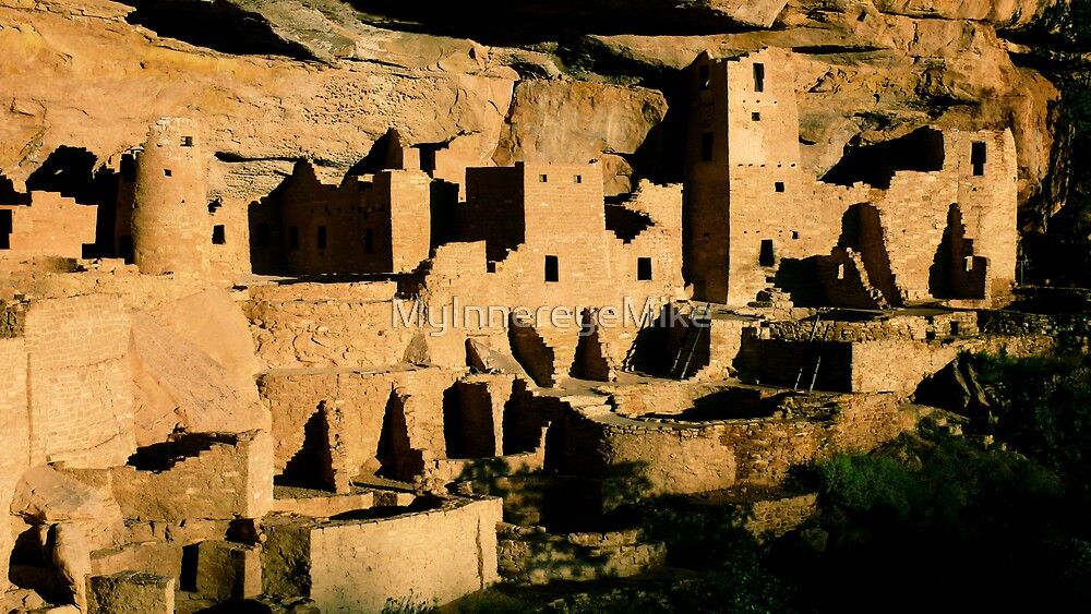#230  Cliff Dwellings In Mesa Verde by MyInnereyeMike