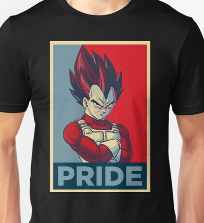 Vegeta -- Pride Poster [3/3] Unisex T-Shirt