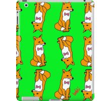 British Fox Pattern iPad Case/Skin