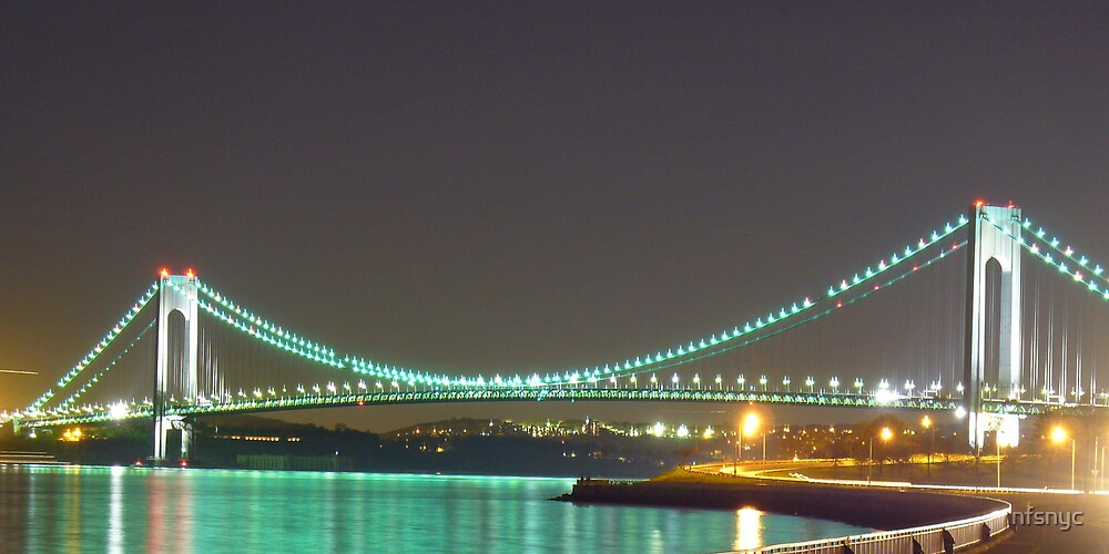 Verrazano Bridge NYC by nfsnyc