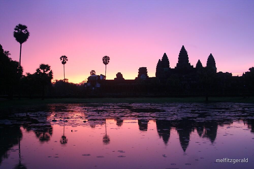 Angkor Wat Sunrise by melfitzgerald