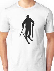 Cross-country skiing Unisex T-Shirt