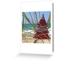 Red Tree Greeting Card