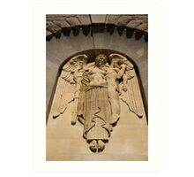 War Memorial Angel Art Print