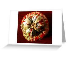 Pumpkin gourd Greeting Card