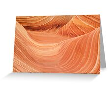 Wave Rock, Coyote Buttes Greeting Card