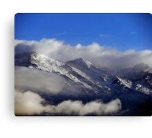 Smoke Mountains Canvas Print