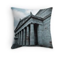 Shrine of Rememberence Throw Pillow