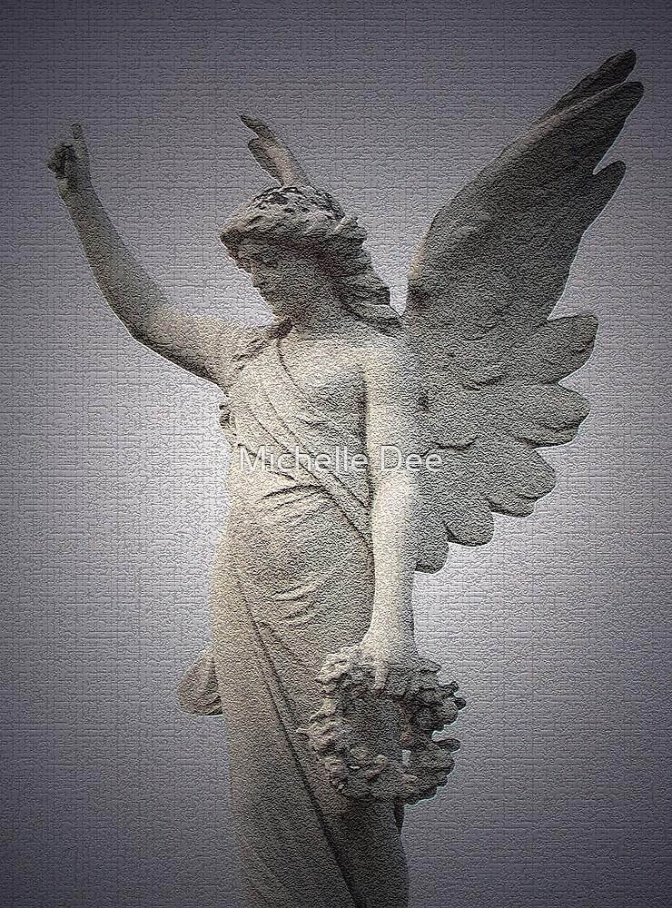 Angel on High by michelleduerden