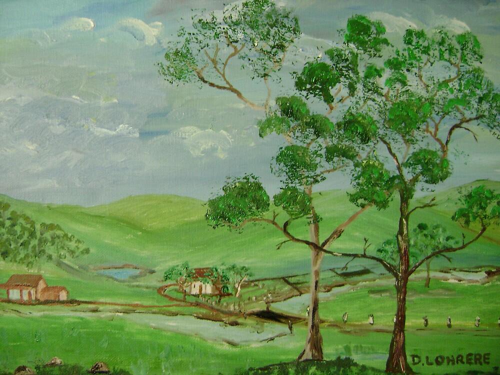 Farmland by Debra Lohrere