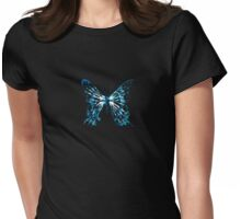 Fringe Butterfly Womens Fitted T-Shirt