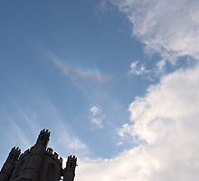 Circumzenithal Arc above Ely Cathedral by PigleT