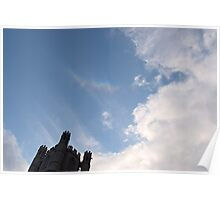 Circumzenithal Arc above Ely Cathedral Poster