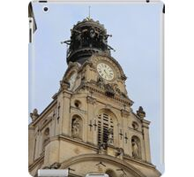 Ste Croix Church - Nantes, France. iPad Case/Skin