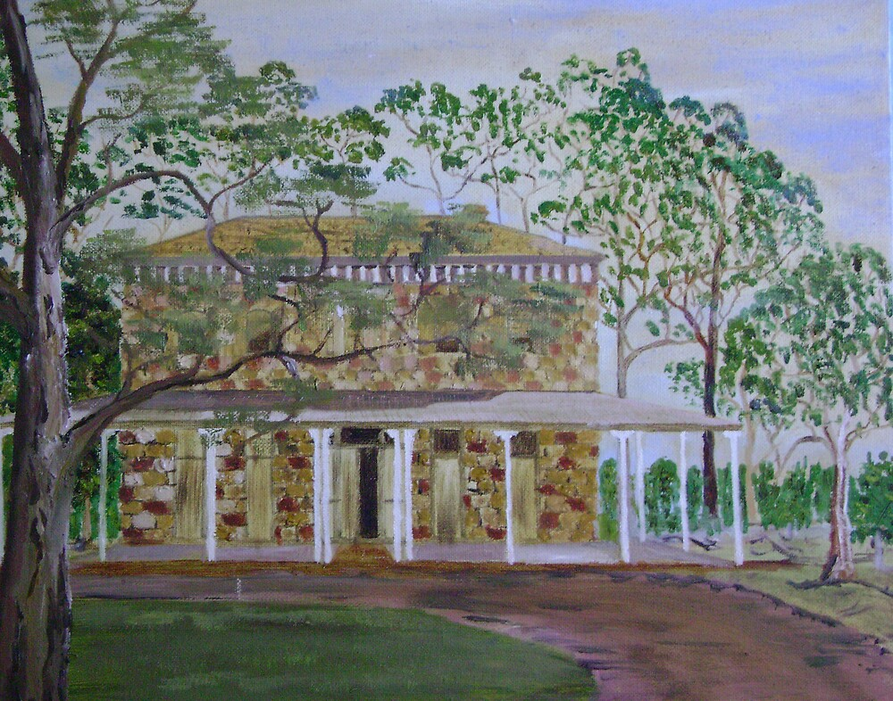 Country House by Debra Lohrere