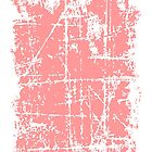 Scratched Light Pink Surface by theshirtshops