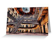 Jailhouse Blues Greeting Card