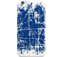 Scratched Dark Blue Surface iPhone Case/Skin