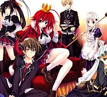 Highschool DxD - Rias Gremory, A True Family by ghoststorm