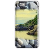 Georgia Beach, British Columbia iPhone Case/Skin