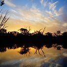 Horseshoe Lagoon Sun Set by D-GaP