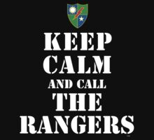 KEEP CALM AND CALL THE RANGERS by PARAJUMPER