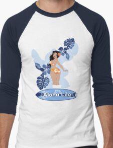 Aloha Lilo Men's Baseball ¾ T-Shirt