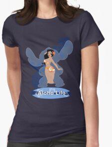 Aloha Lilo Womens Fitted T-Shirt
