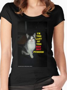 Sophia The Cat #2 [Tex's Owner] Women's Fitted Scoop T-Shirt