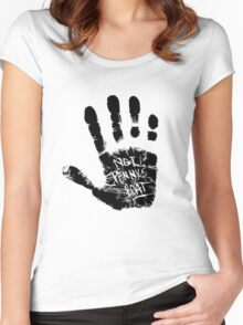Not Penny's Boat Women's Fitted Scoop T-Shirt