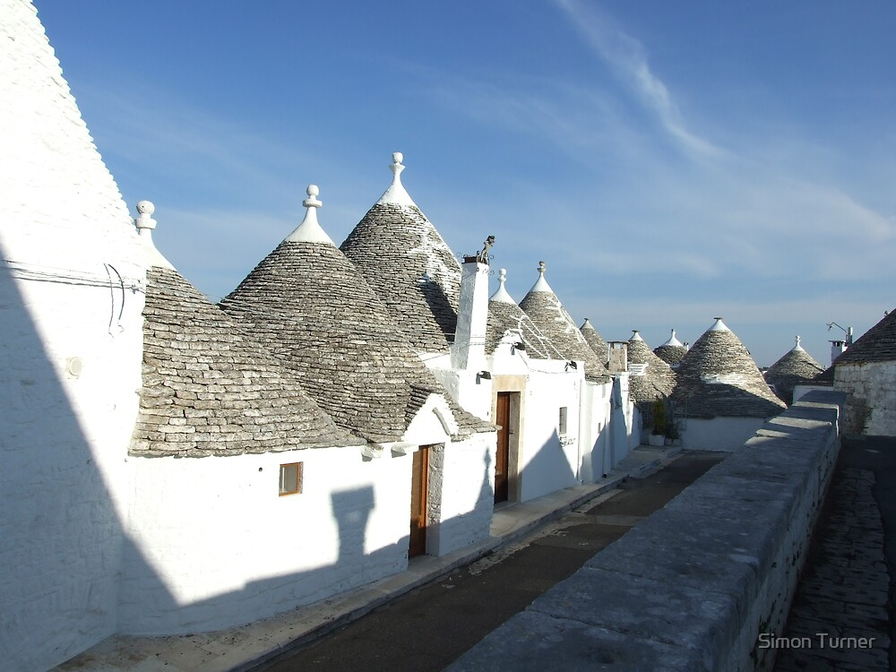 Trulli by Simon Turner