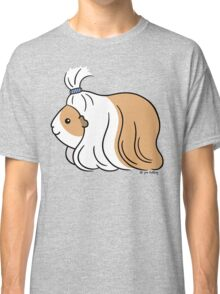 Guinea-pig Tail - long haired cavy Classic T-Shirt