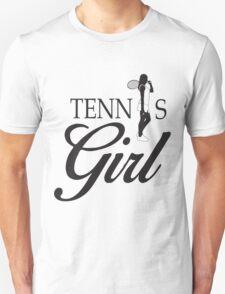 Tennis Girl Unisex T-Shirt
