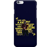 Starlord Quote 2 iPhone Case/Skin