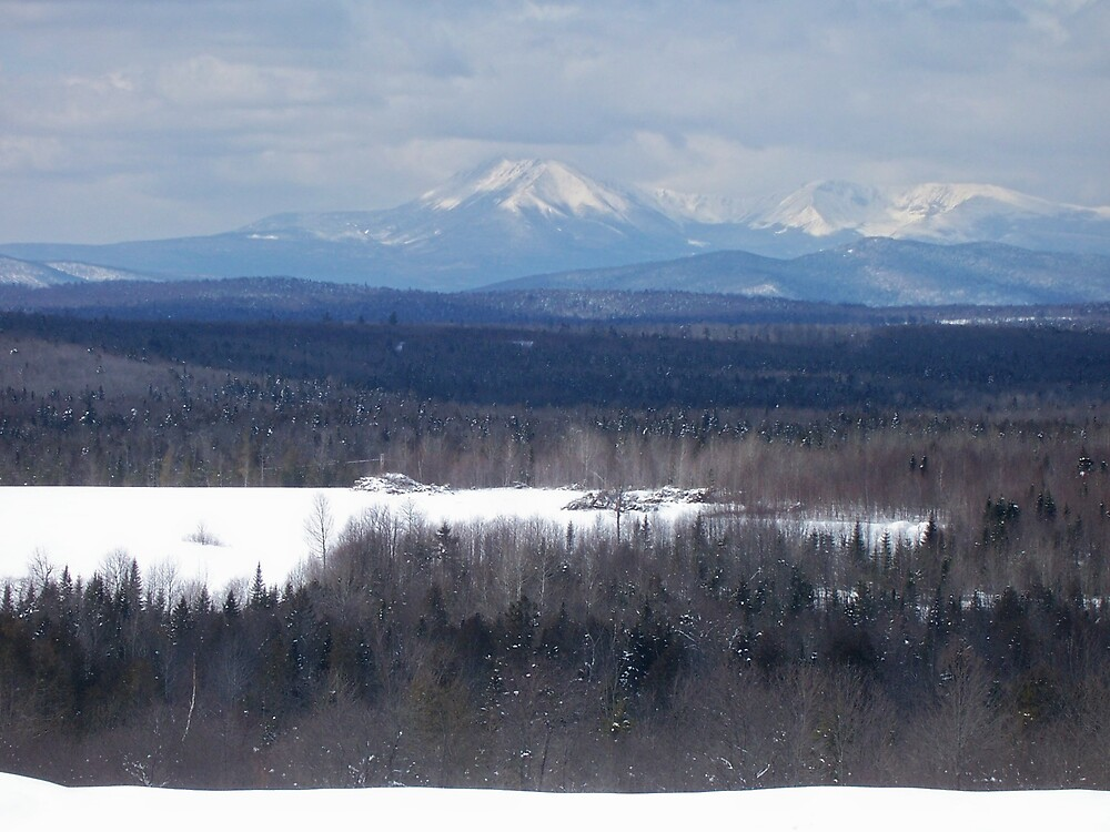 Katahdin Winter 1 by Gene Cyr