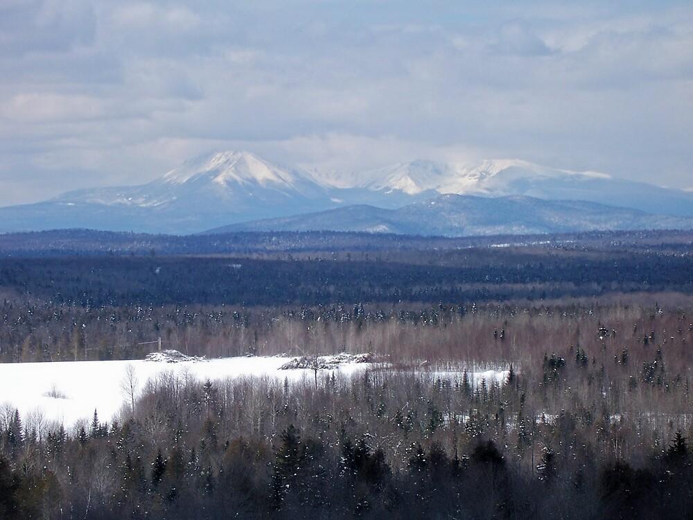 Mount Katahdin 2 by Gene Cyr