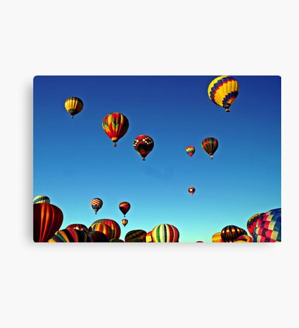I love the sky! Canvas Print