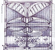"""""""flying"""" . sketch in a coffee table. by terezadelpilar~ art & architecture"""