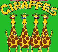 Teenage Mutant Ninja Giraffes by ChrisButler