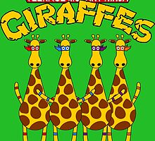 Teenage Mutant Ninja Giraffes by ChrisButler