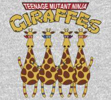 Teenage Mutant Ninja Giraffes One Piece - Long Sleeve
