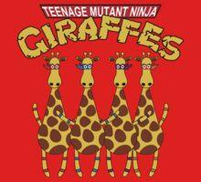 Teenage Mutant Ninja Giraffes Baby Tee
